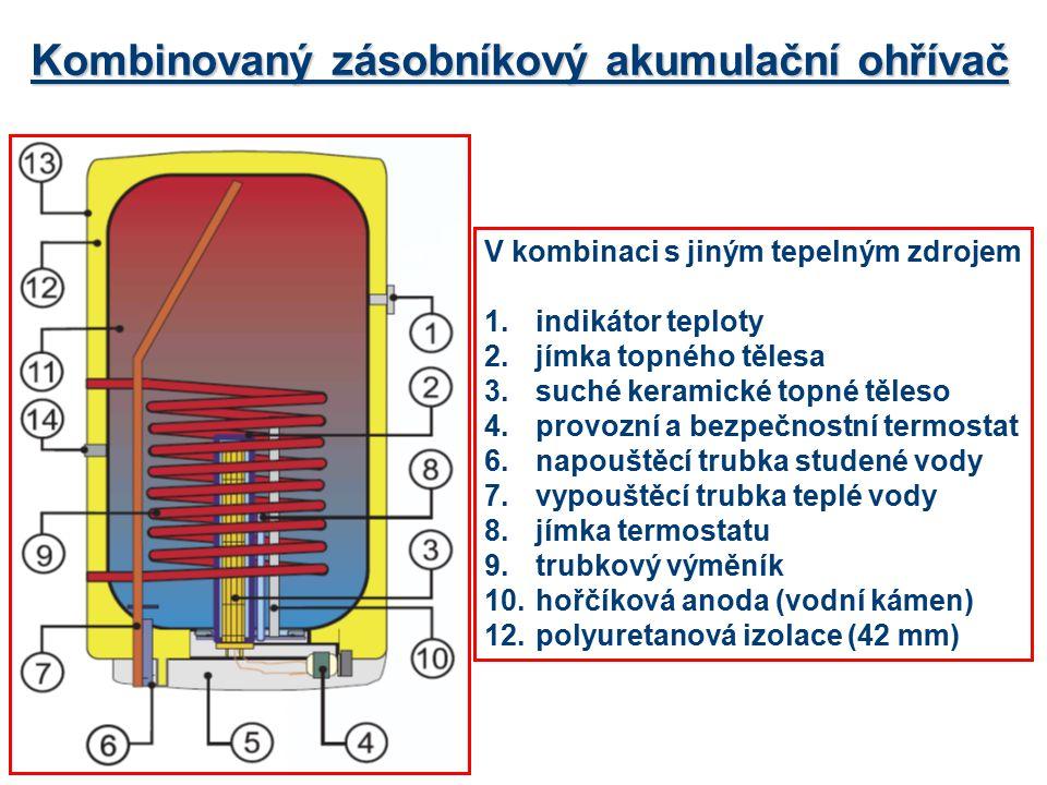 Kombinovaný zásobníkový akumulační ohřívač