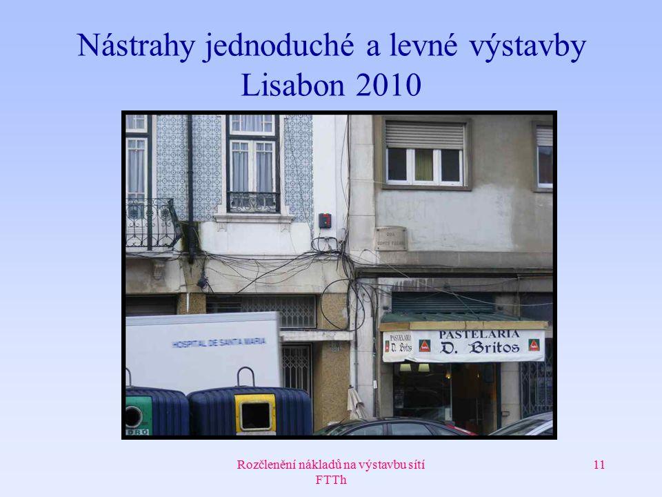 Nástrahy jednoduché a levné výstavby Lisabon 2010