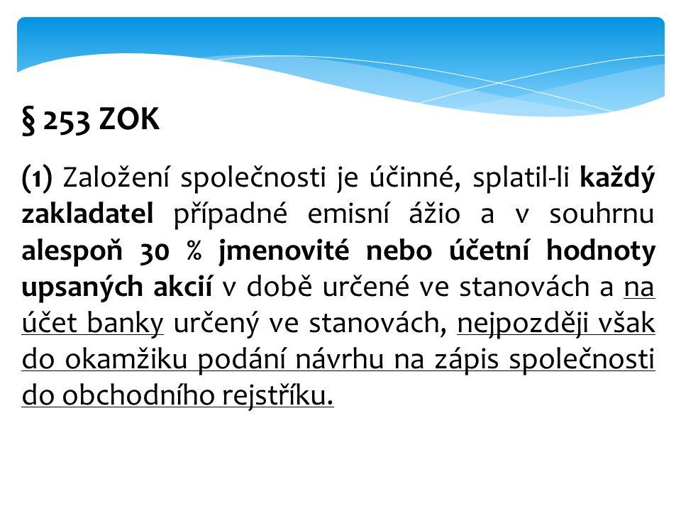 § 253 ZOK