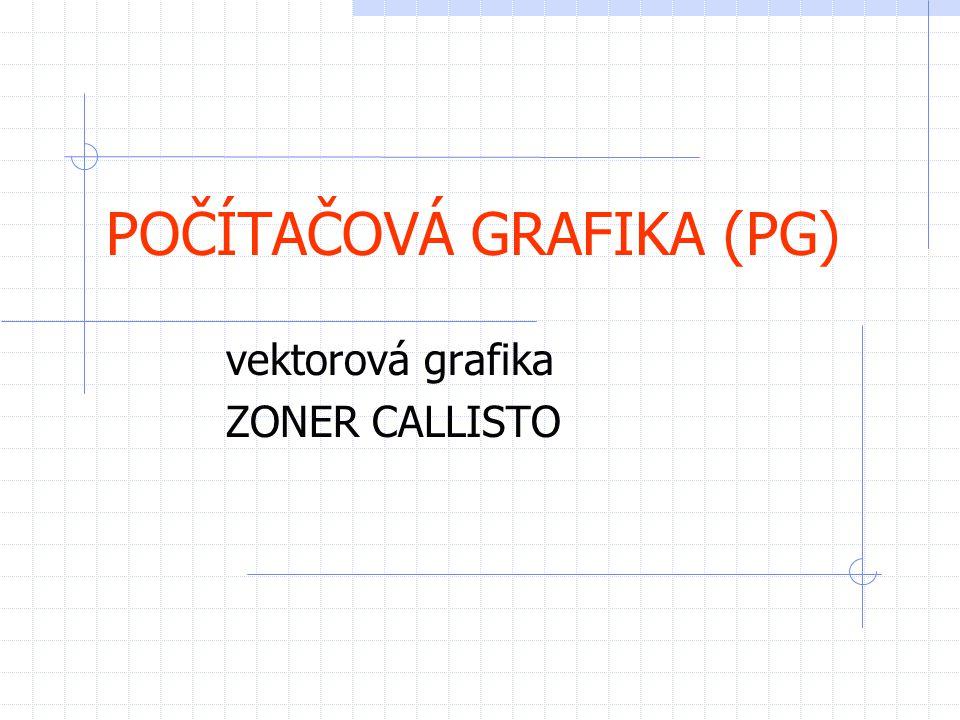 POČÍTAČOVÁ GRAFIKA (PG)