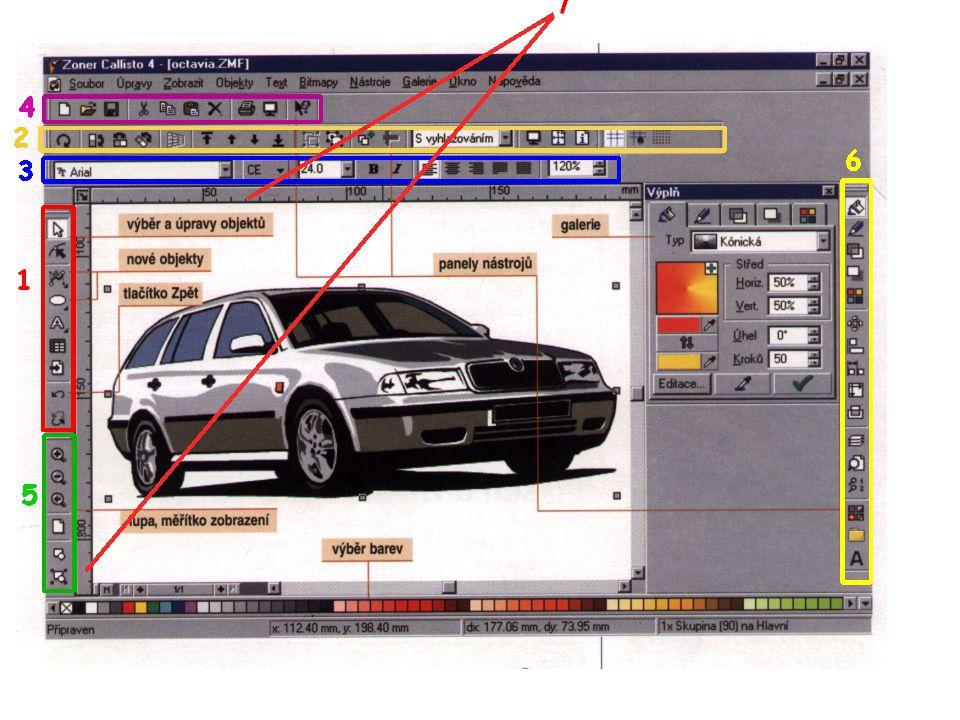 Obrázek vznikl jako printscreen obrazovky příslušného programu (© Mgr