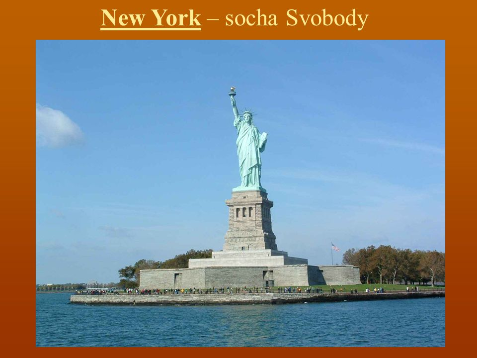 New York – socha Svobody