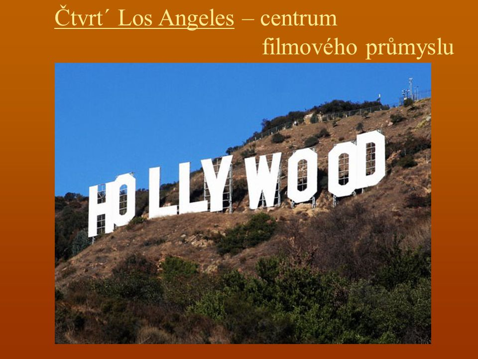 Čtvrt´ Los Angeles – centrum
