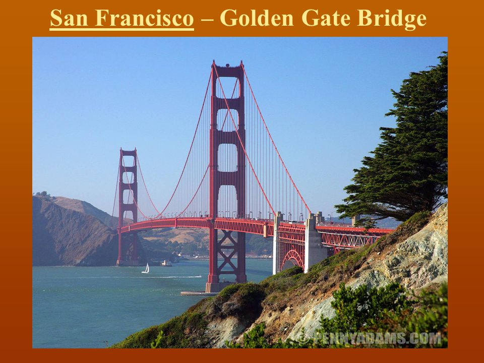 San Francisco – Golden Gate Bridge