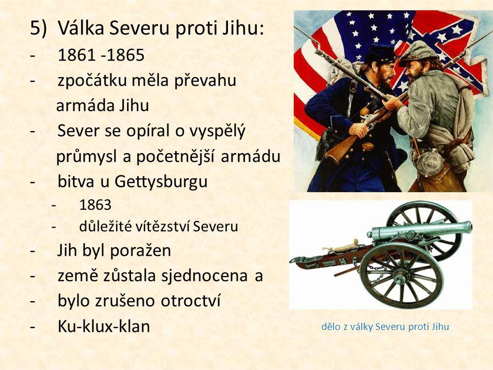 Válka Severu proti Jihu: