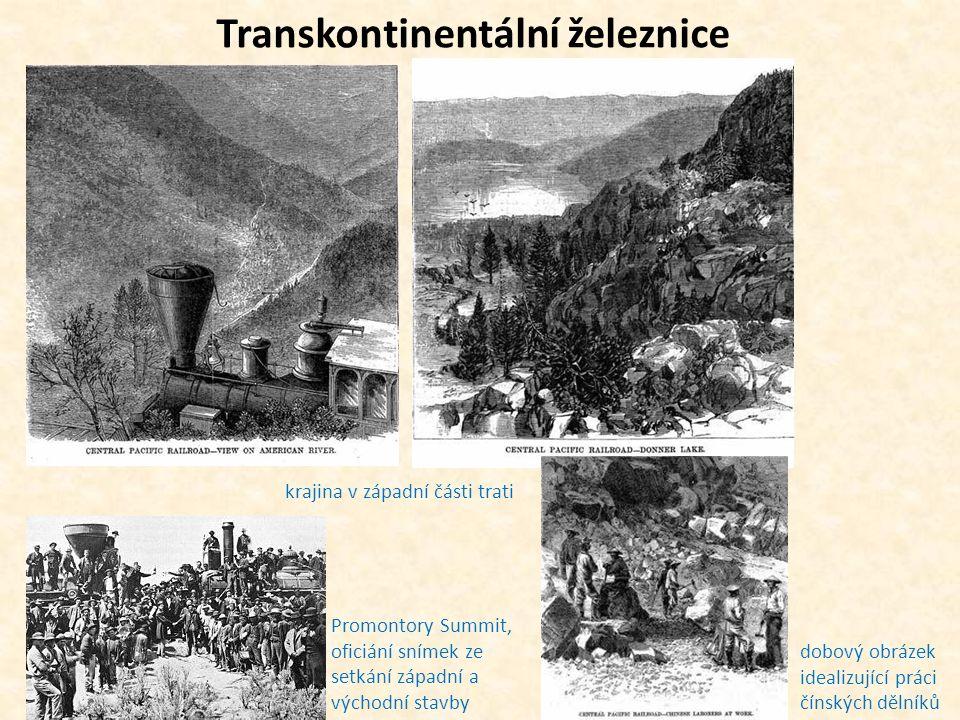 Transkontinentální železnice