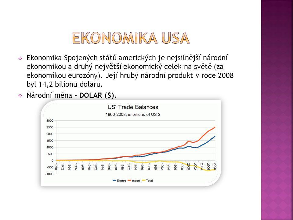 EKONOMIKA USA