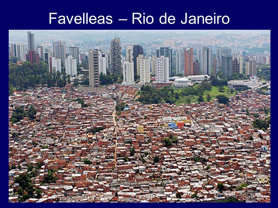 Favelleas – Rio de Janeiro