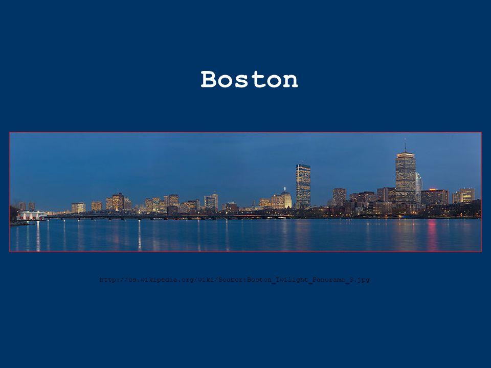 Boston http://cs.wikipedia.org/wiki/Soubor:Boston_Twilight_Panorama_3.jpg