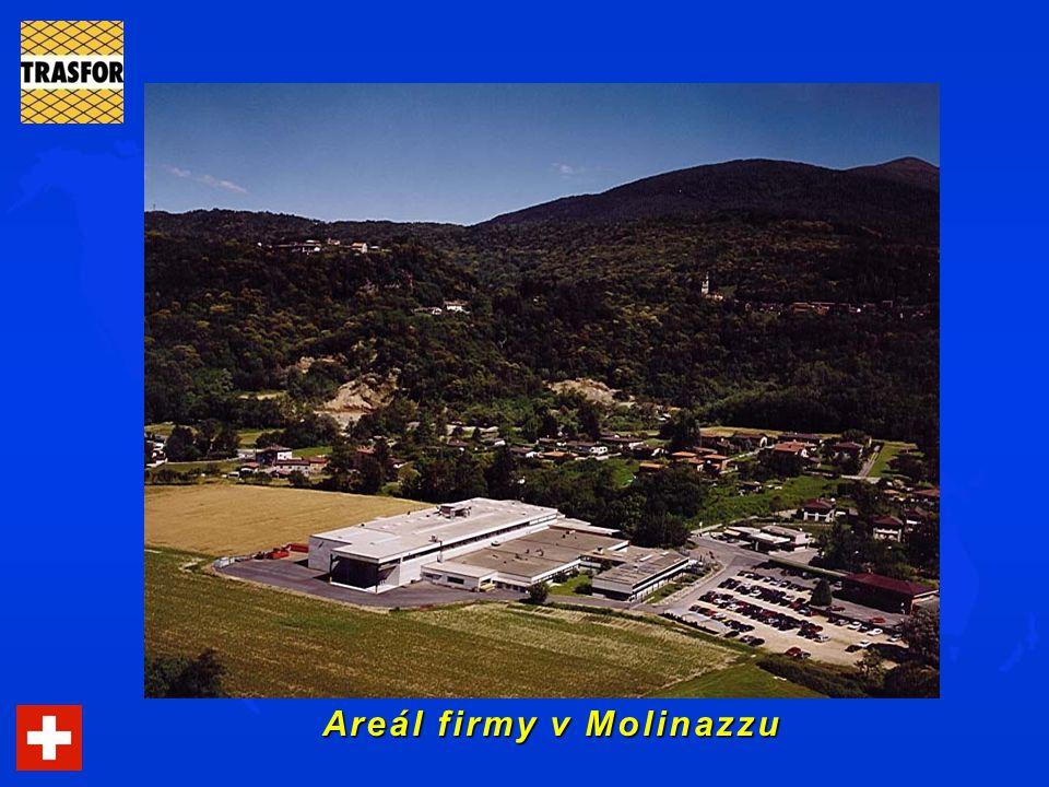 Areál firmy v Molinazzu