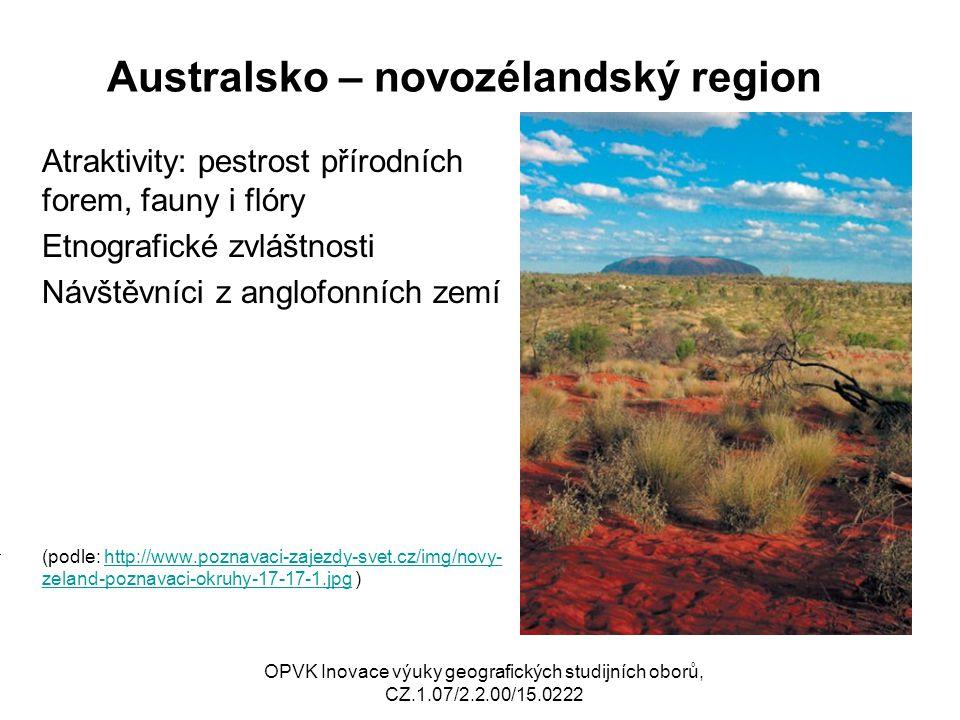 Australsko – novozélandský region