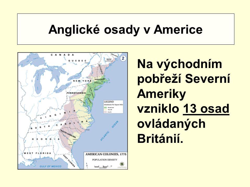 Anglické osady v Americe