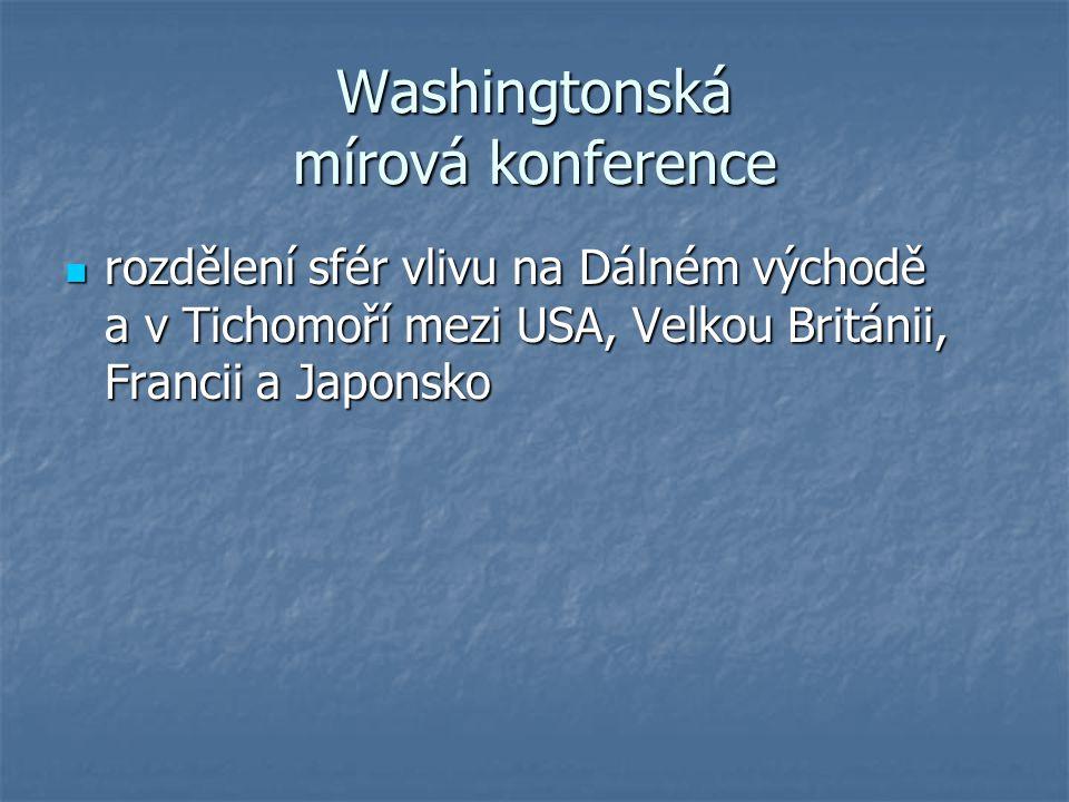 Washingtonská mírová konference