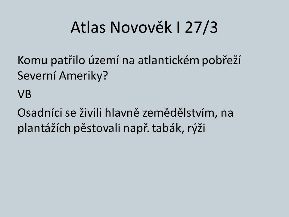 Atlas Novověk I 27/3