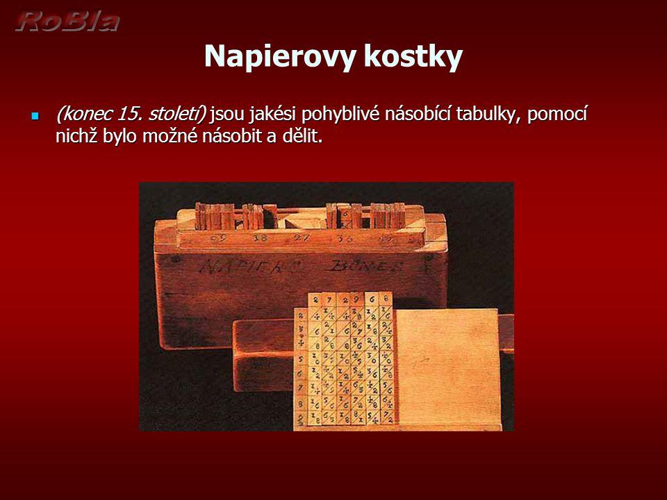 Napierovy kostky (konec 15.