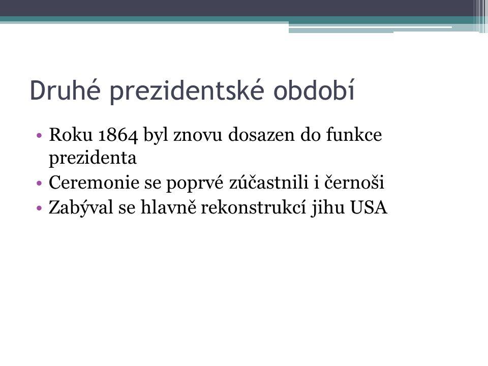 Druhé prezidentské období
