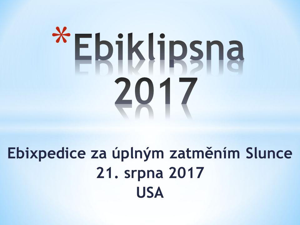 Ebixpedice za úplným zatměním Slunce 21. srpna 2017 USA