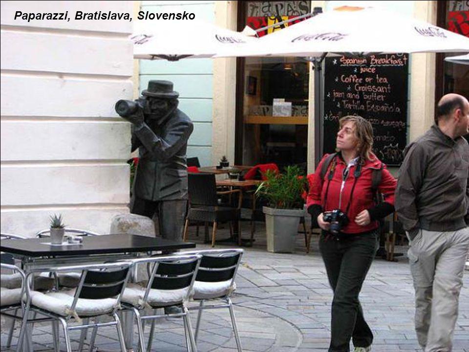 Paparazzi, Bratislava, Slovensko