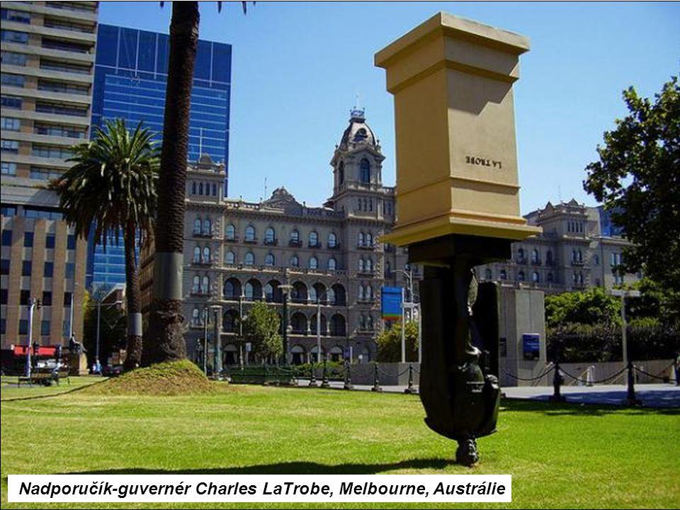 Nadporučík-guvernér Charles LaTrobe, Melbourne, Austrálie