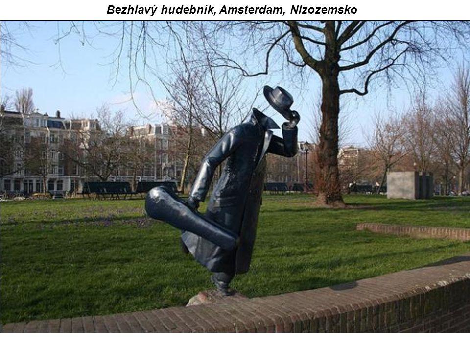 Bezhlavý hudebník, Amsterdam, Nizozemsko