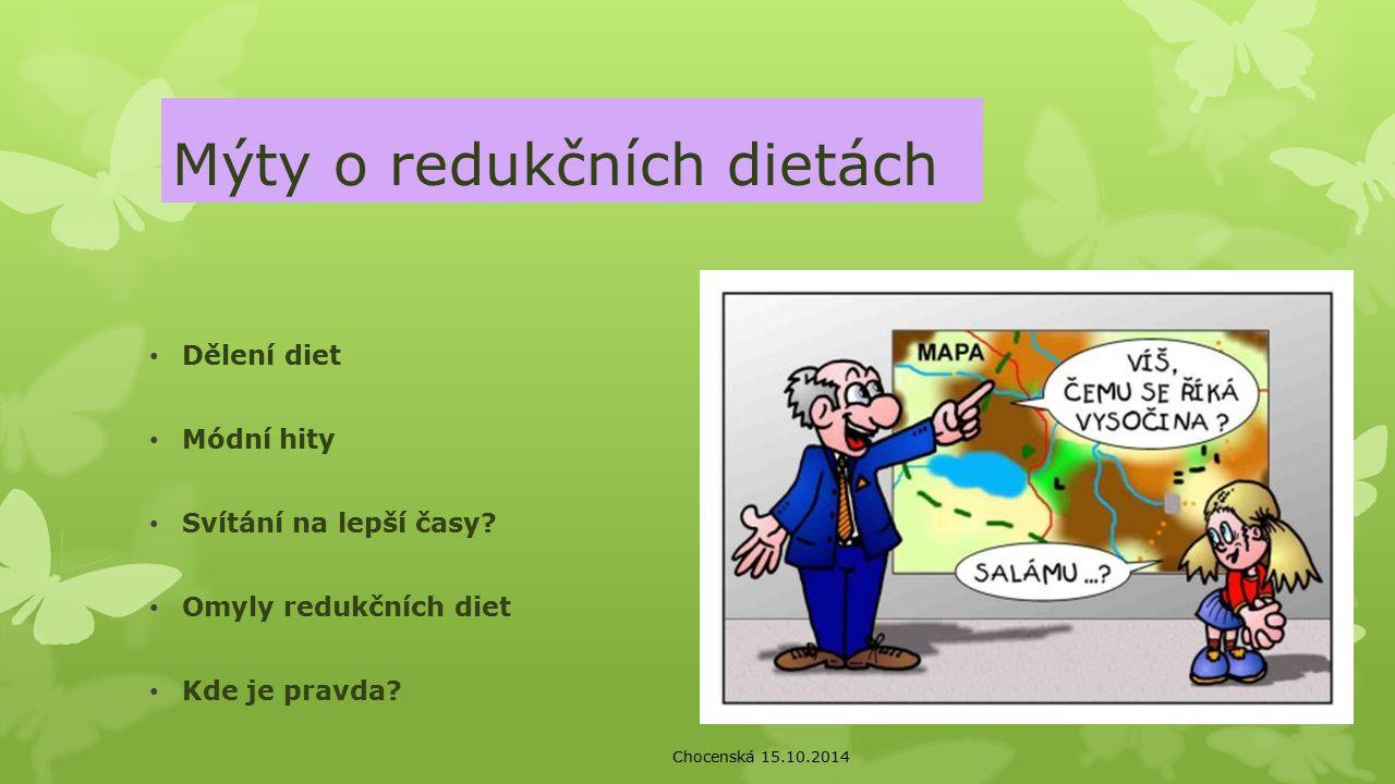 Mýty o redukčních dietách