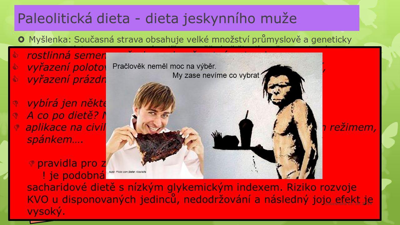 Paleolitická dieta - dieta jeskynního muže