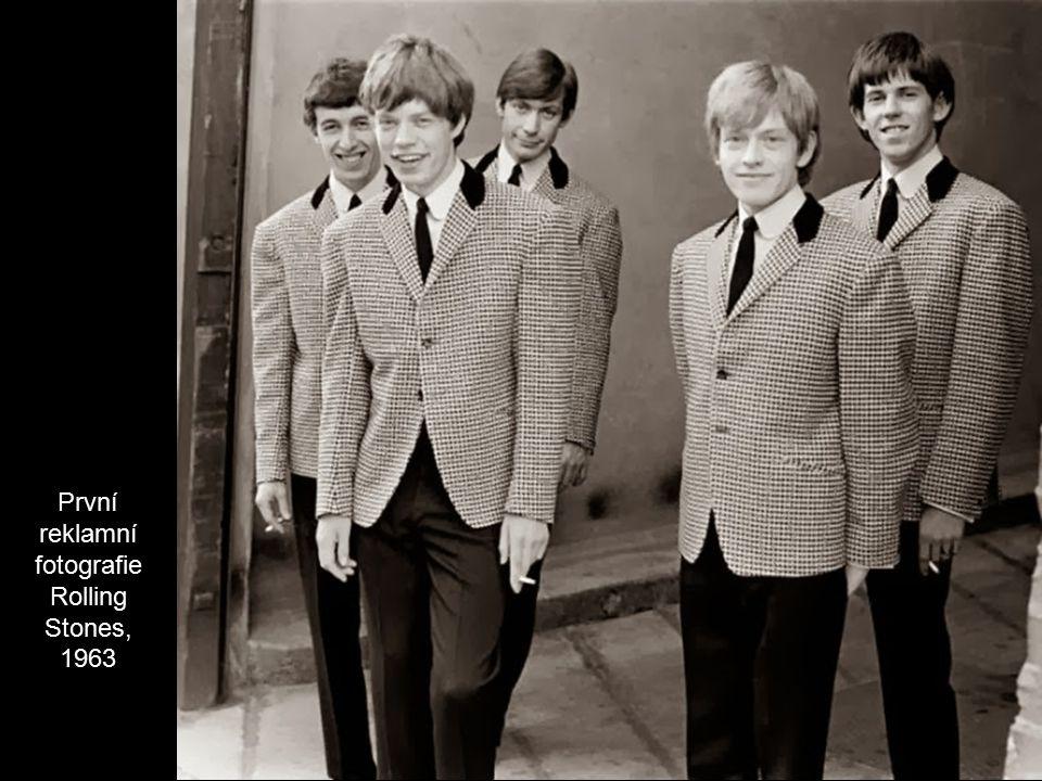První reklamní fotografie Rolling Stones, 1963