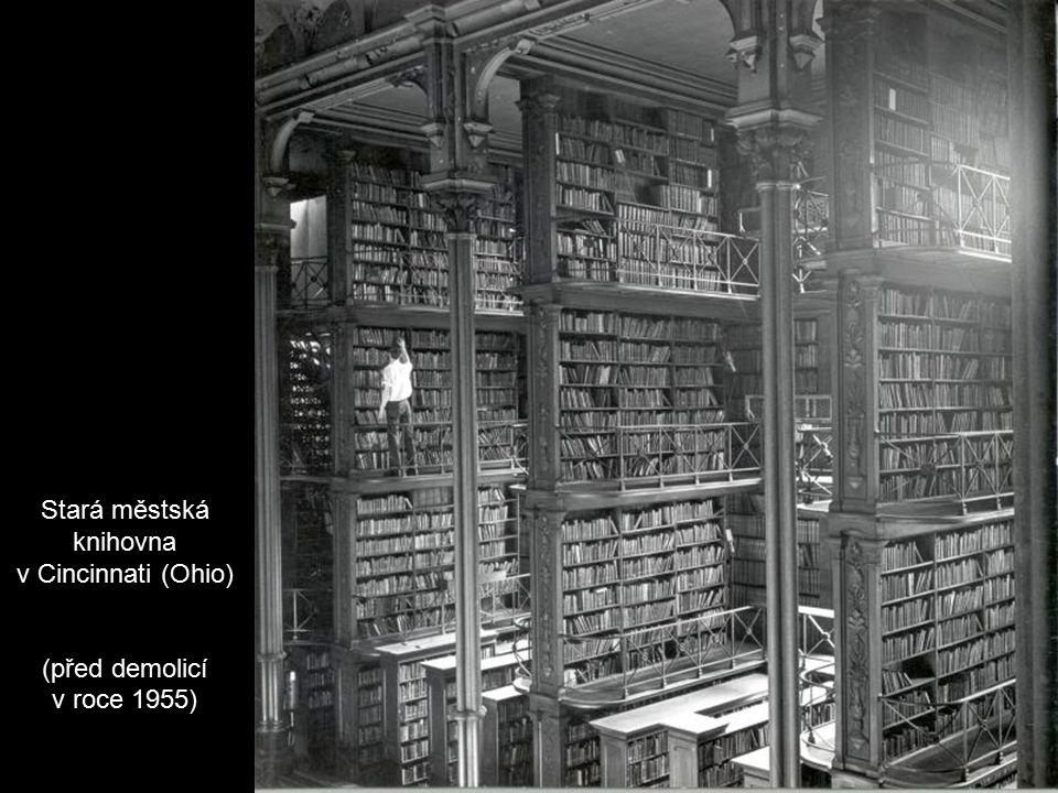 Stará městská knihovna v Cincinnati (Ohio)