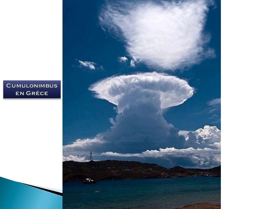 Cumulonimbus en Grèce