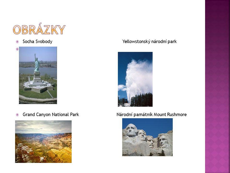 obrázky Socha Svobody Yellowstonský národní park