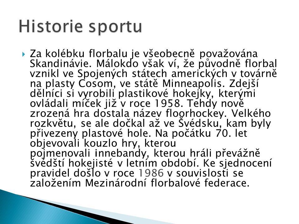 Historie sportu