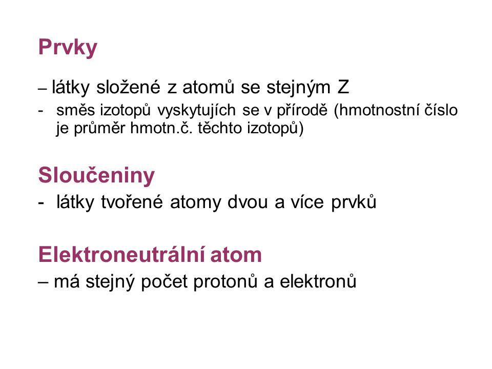 Elektroneutrální atom