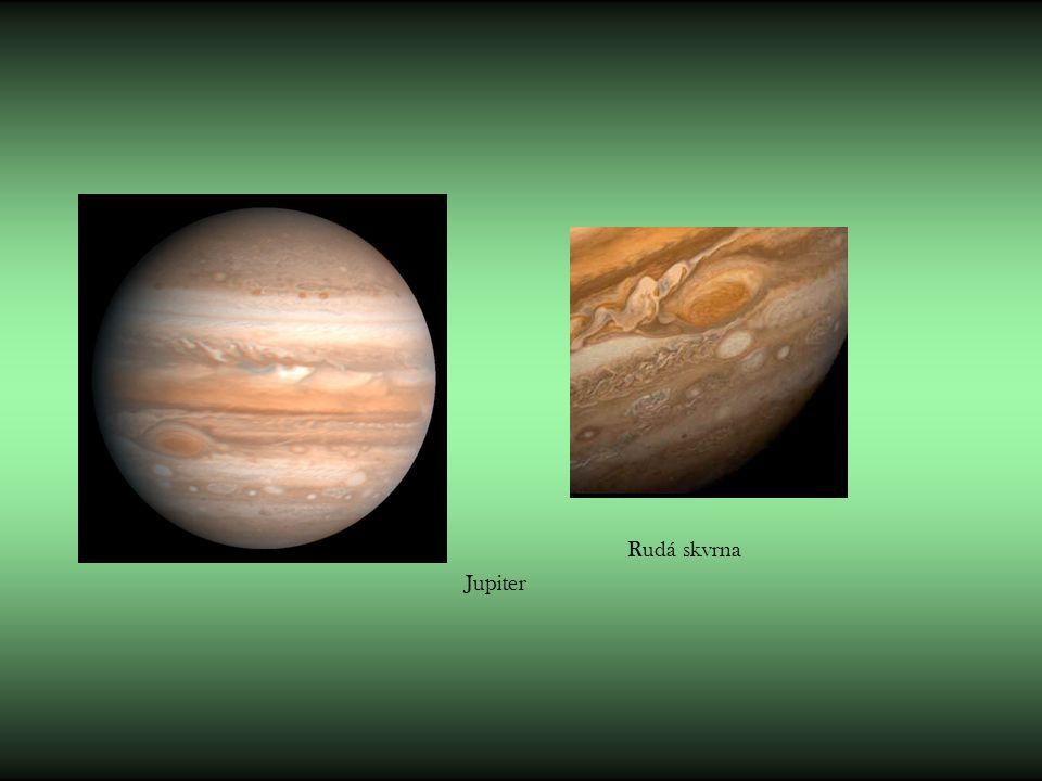 Rudá skvrna Jupiter