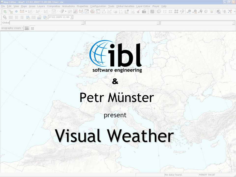 & Petr Münster present Visual Weather