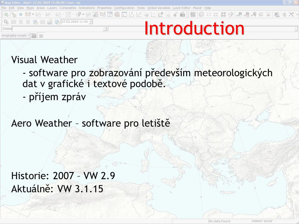 Introduction Visual Weather