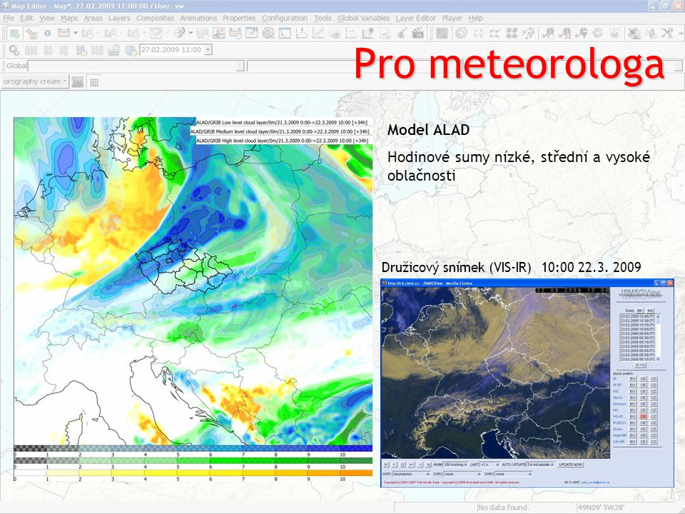 Pro meteorologa Model ALAD