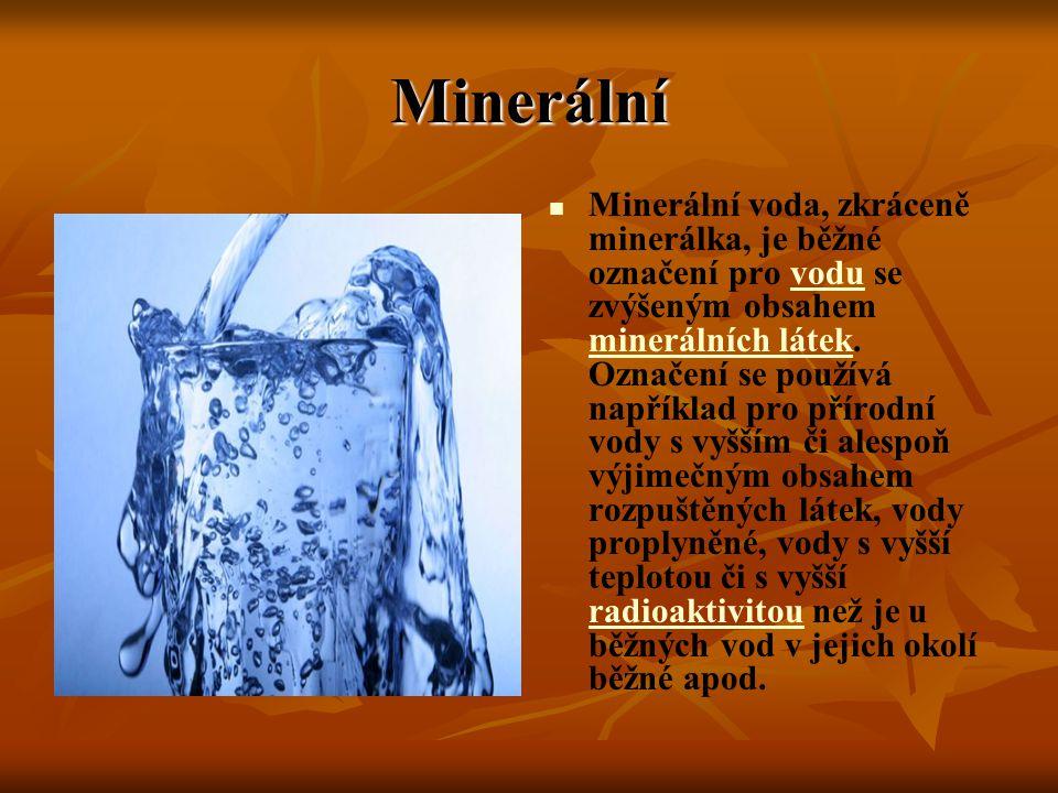 Minerální
