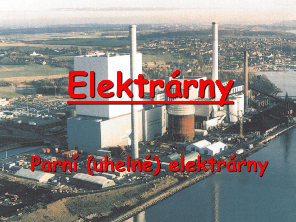 Parní (uhelné) elektrárny