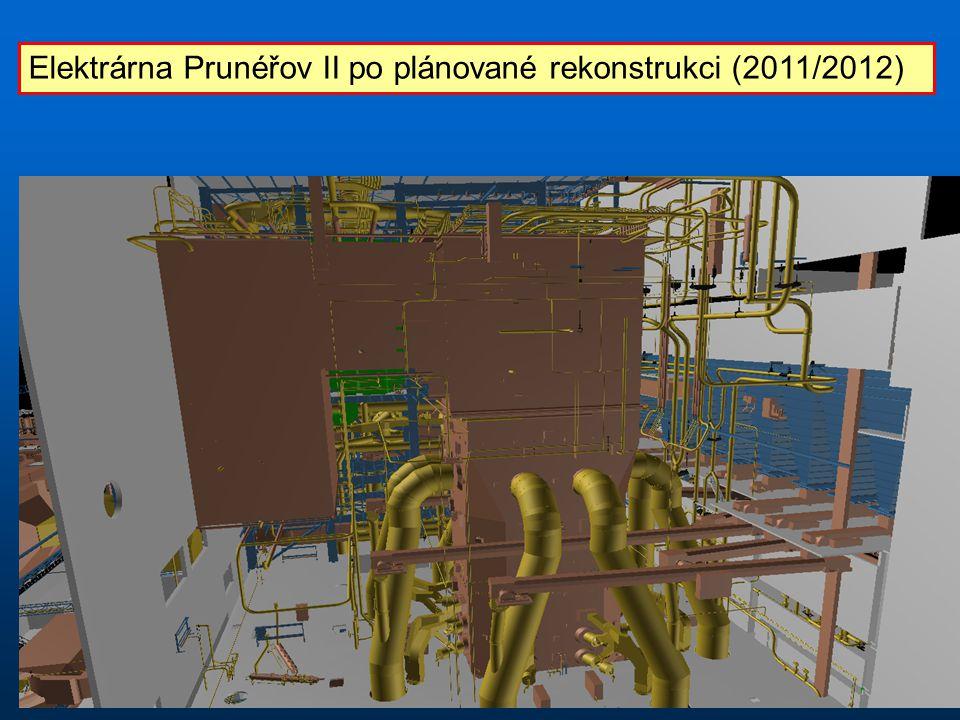 Elektrárna Prunéřov II po plánované rekonstrukci (2011/2012)