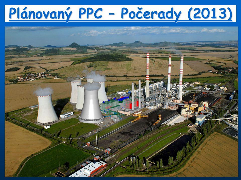 Plánovaný PPC – Počerady (2013)