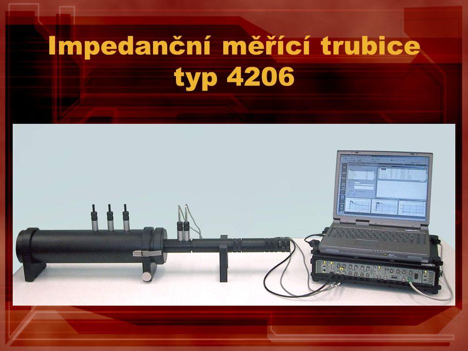 Impedanční měřící trubice typ 4206