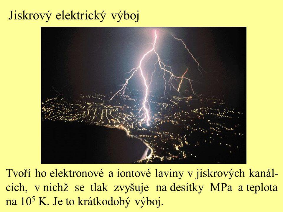 Jiskrový elektrický výboj