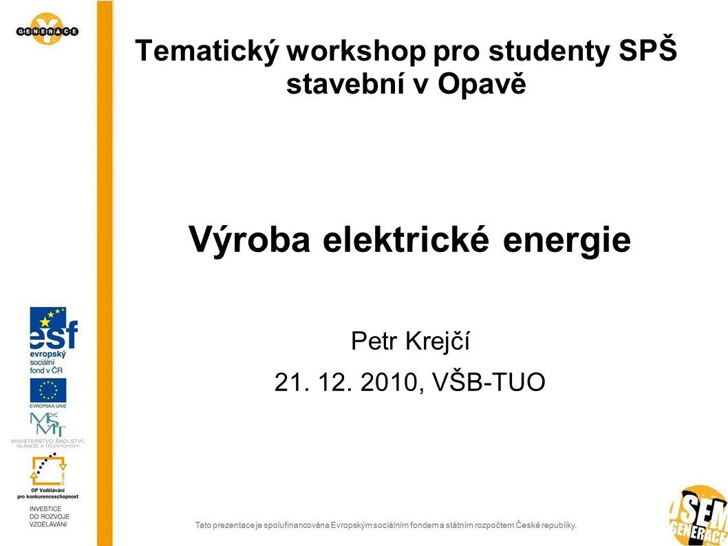 Tematický workshop pro studenty SPŠ stavební v Opavě