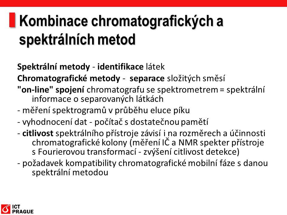 Kombinace chromatografických a spektrálních metod