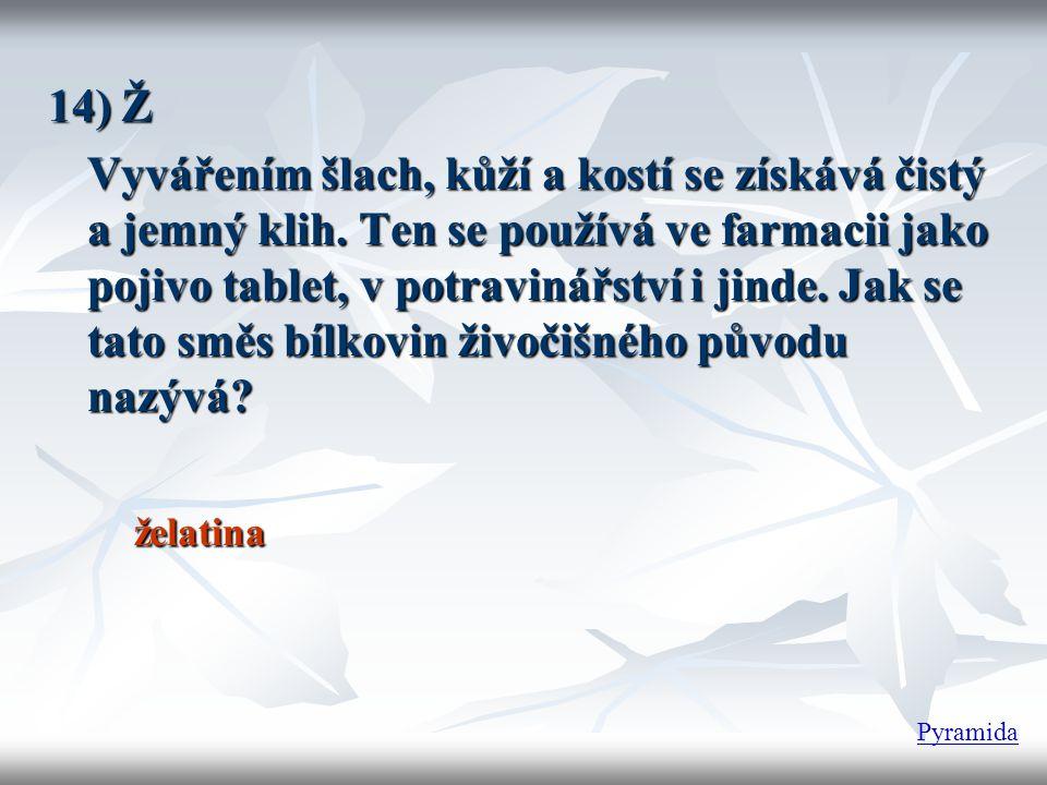 14) Ž