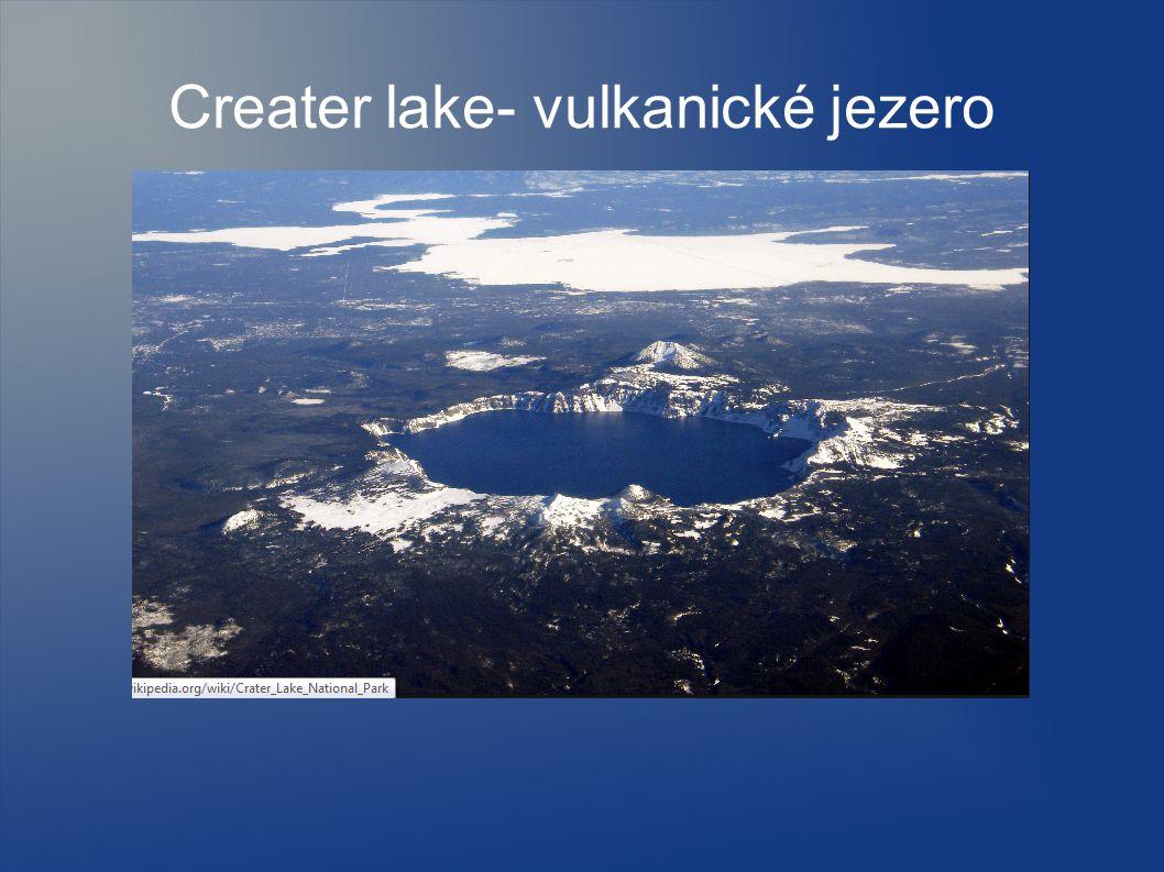 Creater lake- vulkanické jezero