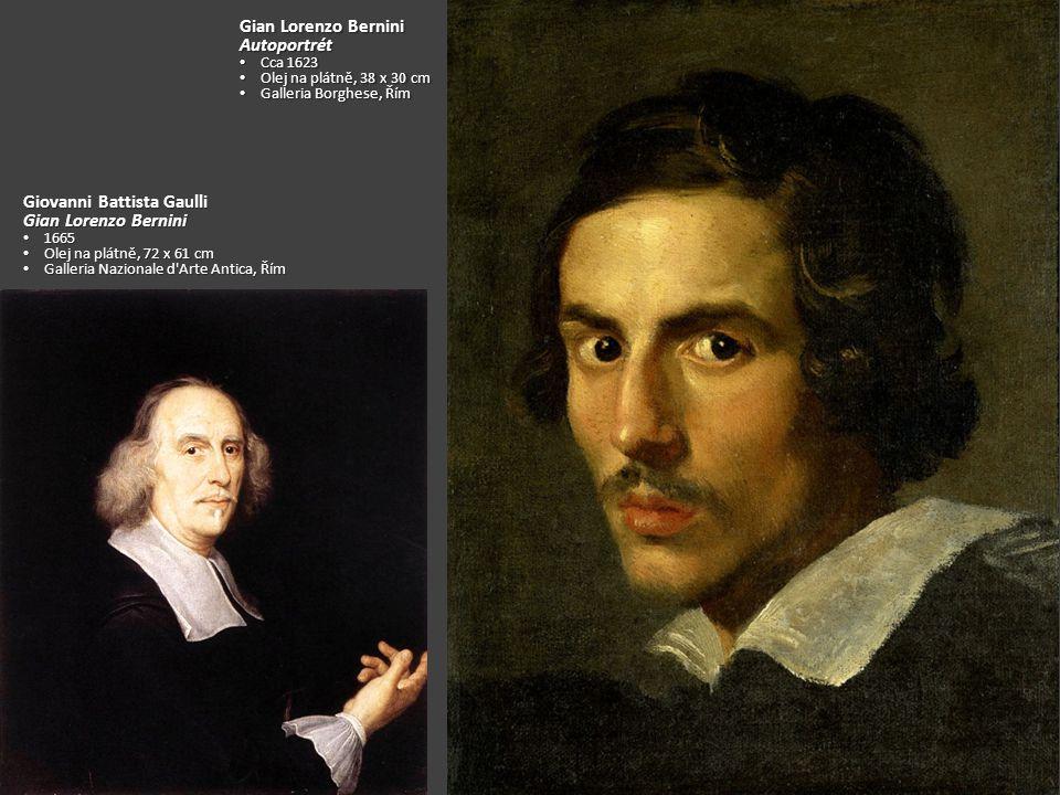Giovanni Battista Gaulli Gian Lorenzo Bernini
