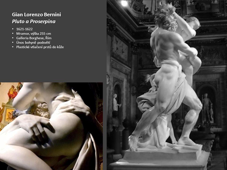 Gian Lorenzo Bernini Pluto a Proserpina 1621-1622 Mramor, výška 255 cm