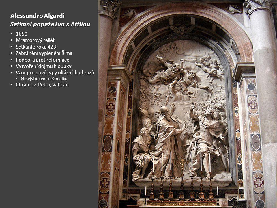 Setkání papeže Lva s Attilou