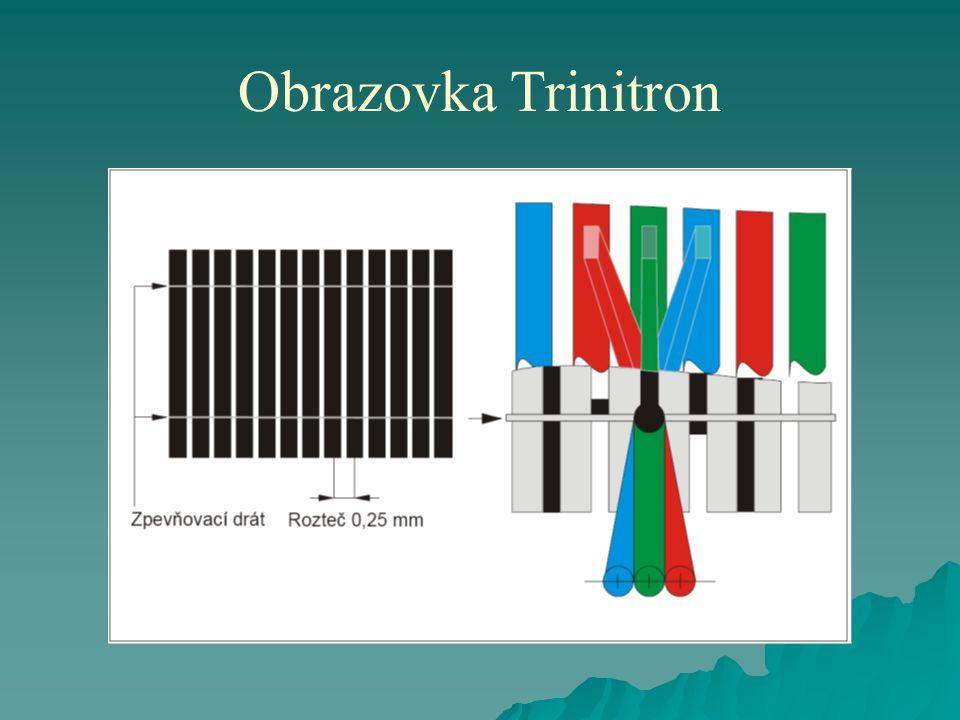 Obrazovka Trinitron